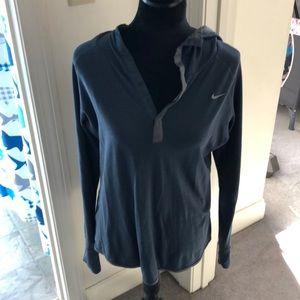 Nike long-sleeved hoodie top